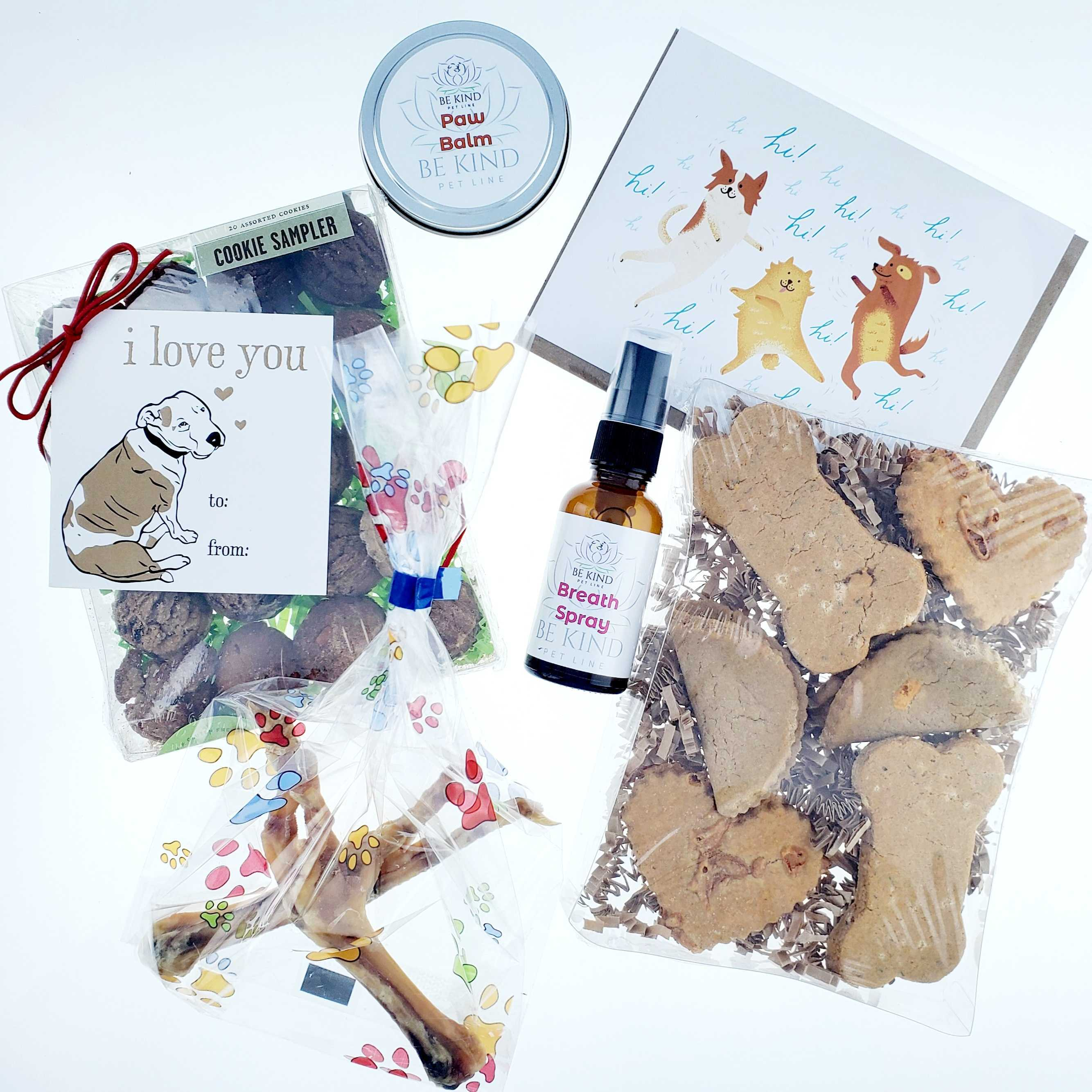 Cheery Dog Box I LOVE YOU BOX Treats + Goodies for Dogs, Size: Small image 2