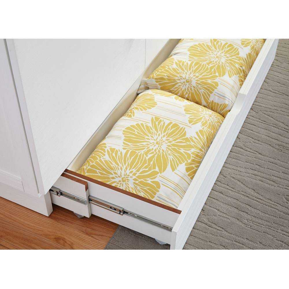 Creden-ZzZ Murphy Cabinet Pull Out Bed, Size: Full, Style: Madrid image 5