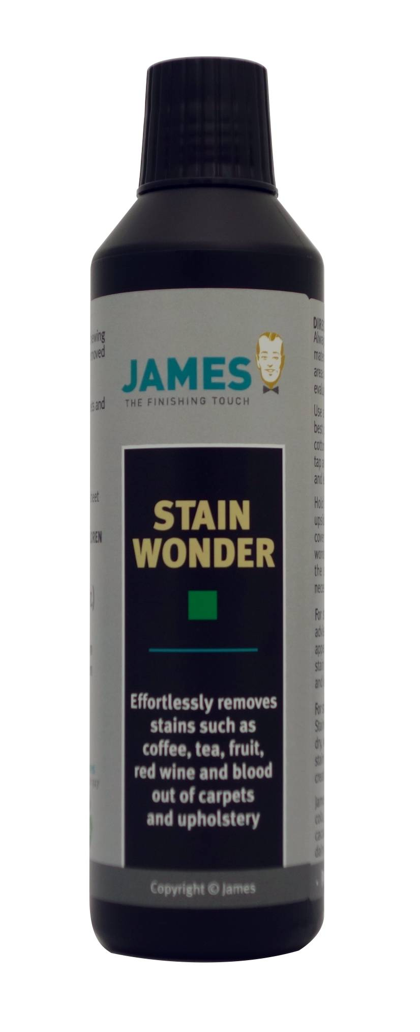 James Cleaner - James Stain Wonder - The 1 component you'll need most in the James Starter Set - your Stain First Aid Kit - to eliminate nearly all of your stains