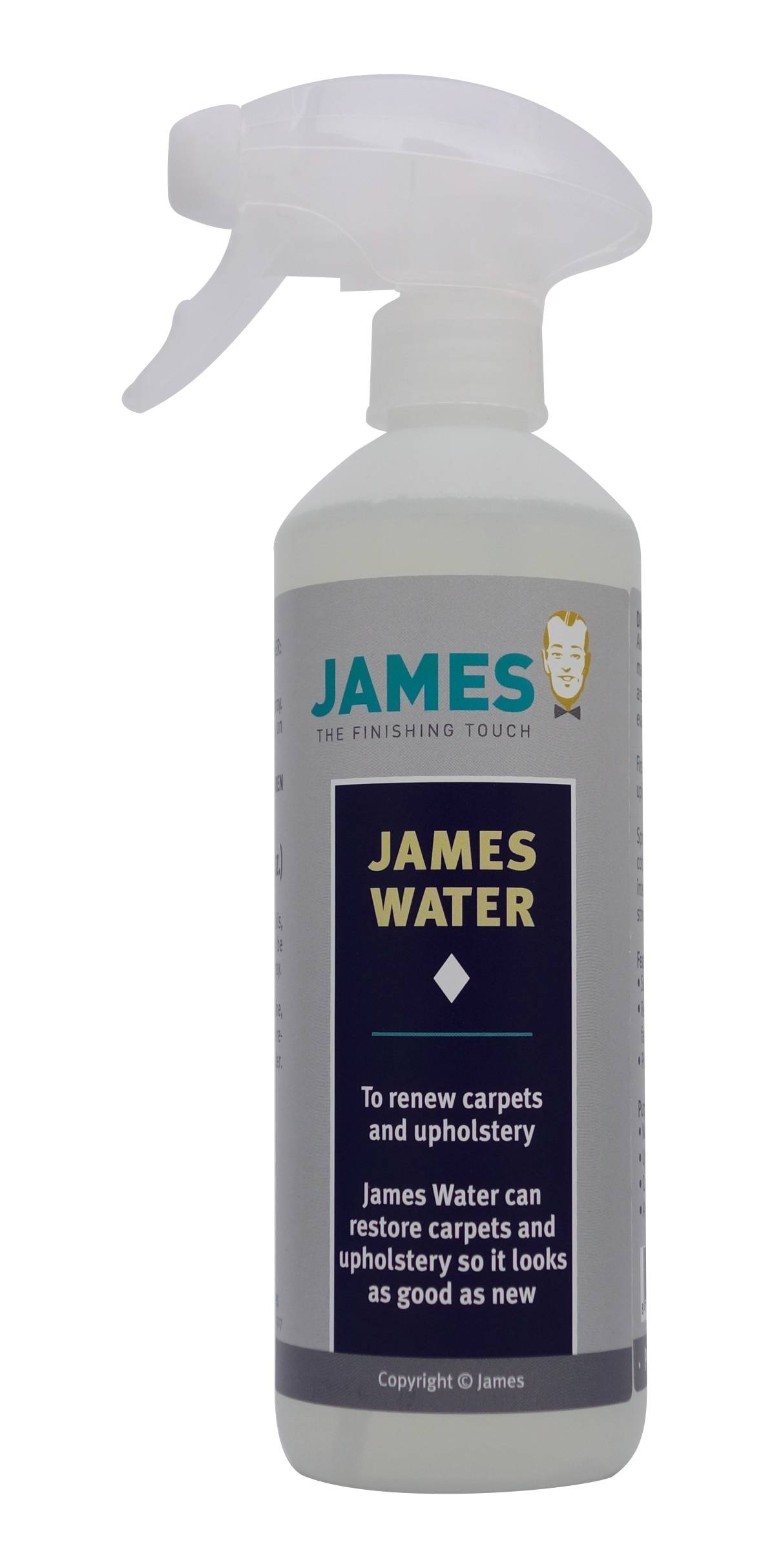 James Cleaner - James Water - secret component in the James Starter Set - your Stain First Aid Kit