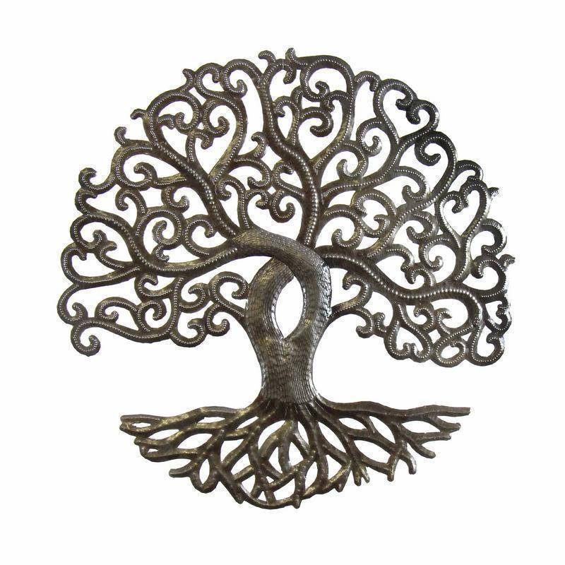 14 inch Tree of Life Curly - Croix des Bouquets image 3
