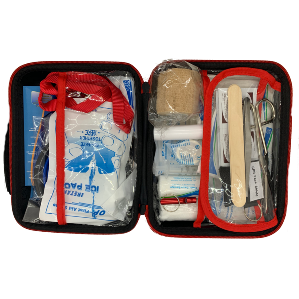 Deluxe Pet First Aid Kit 60+ Emergency Items, Veterinarian Approved image 3