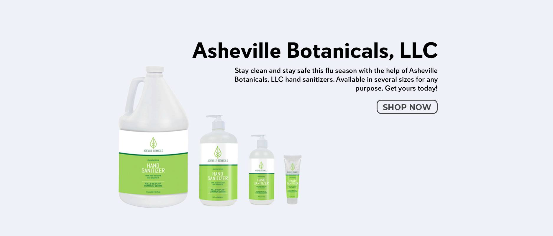 Shop Asheville Botanicals, LLC on Zoombots.com