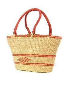 Oval Shopper with Design