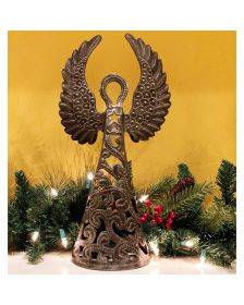 16-inch Metalwork Angel - Wings Up - Croix des Bouquets (H)