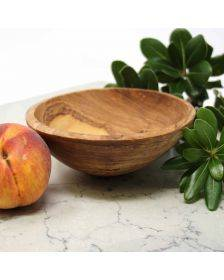 6-Inch Hand-carved Olive Wood Bowl - Jedando Handicrafts