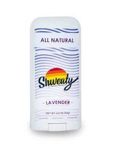 Shweaty All Natural Deodorant | Aluminum and Paraben Free | Lavender
