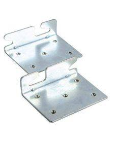 Bed Claw Angled Retro-Hook Plates, Set of 2 with Hardware