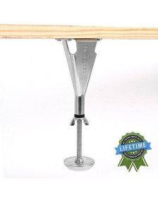 Bed Claw Unibody Adjustable Height Bed Frame Slat Center Support Leg, U.S.A.