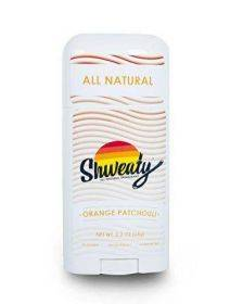 Shweaty All Natural Deodorant | Aluminum and Paraben Free | Orange Patchouli