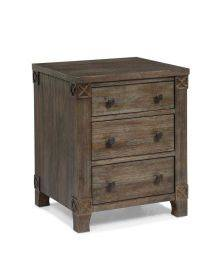Creden-ZzZ Essex Chest of Drawers, Ash