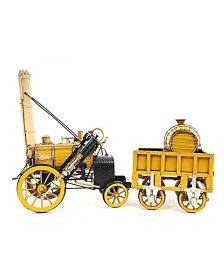 1829 Yellow Stephenson Rocket Steam Locomotive