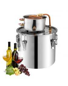 Cucina Chef Moonshine Still Commercial | Water Distiller | 6 L | Copper Pipe