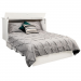 Creden-ZzZ Murphy Cabinet Pull Out Bed, Size: Queen, Style: Cottage White image 2