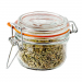 5 oz. Mini Hermes Jars with Air-Tight Clamp Top Lid, Set of 3 image 5